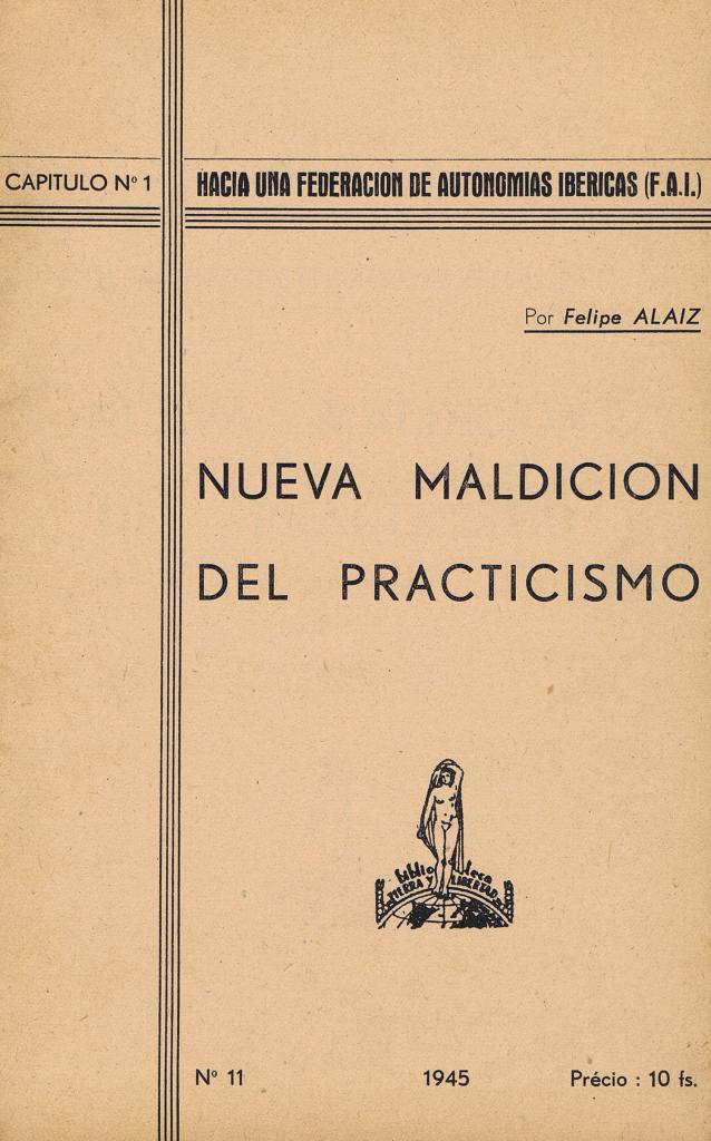 Fonds du CTDEE : ouvrages de Felipe Alaiz