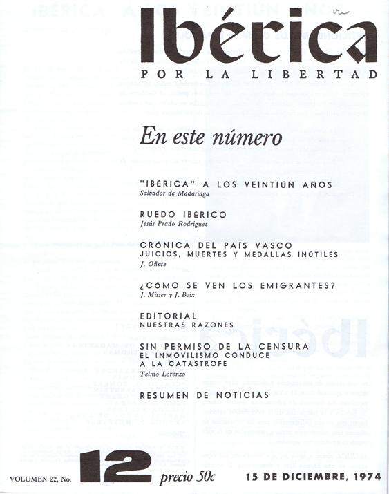 Ibérica 1957-1974