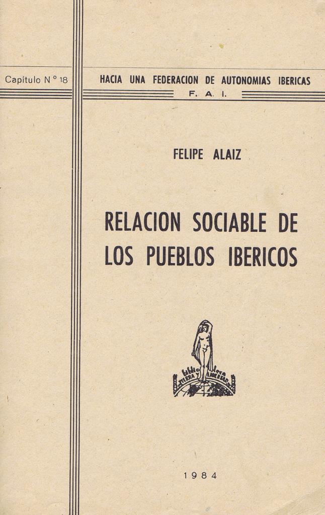 Relación sociable de los pueblos ibéricos
