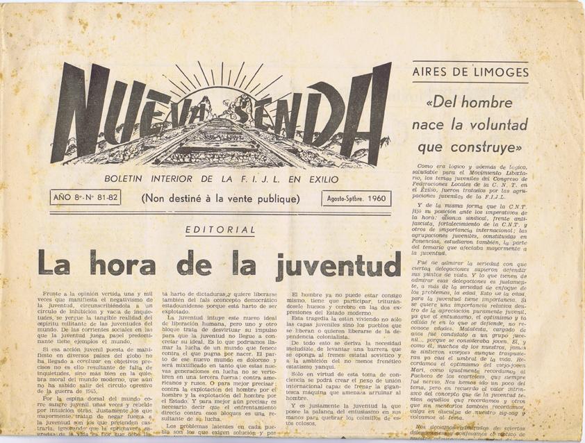 Nueva senda 1954-1960