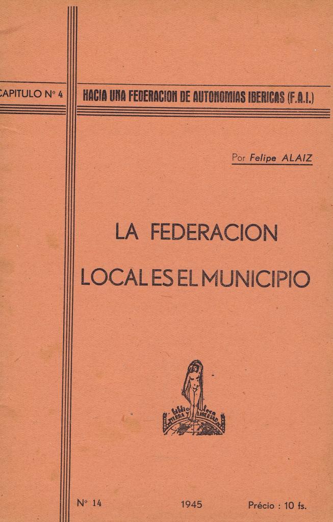 La federación local es el municipio
