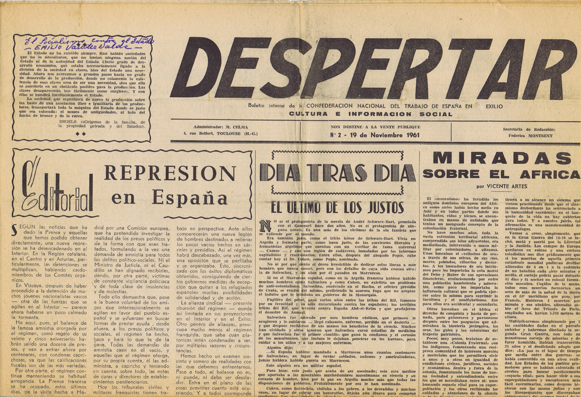 Despertar 1961