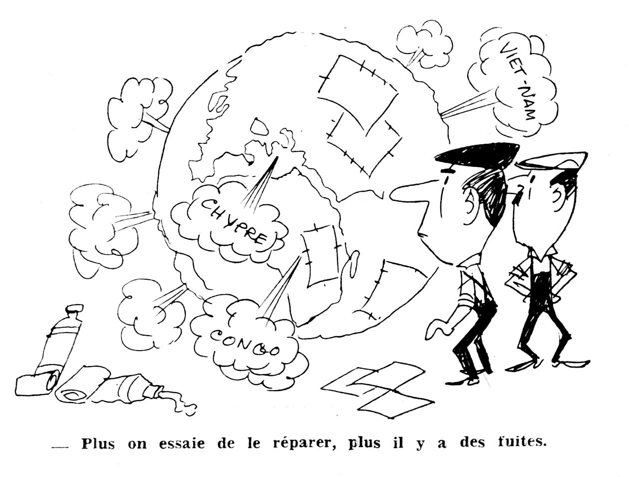 Dessin de Joan Call Bonet du 27/09/1964 (Espoir n°143)