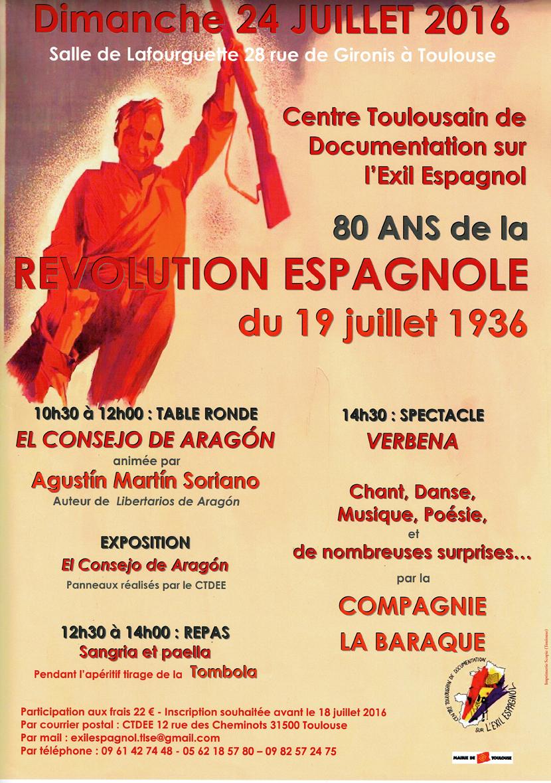 19 juillet 1936 affiche 2016