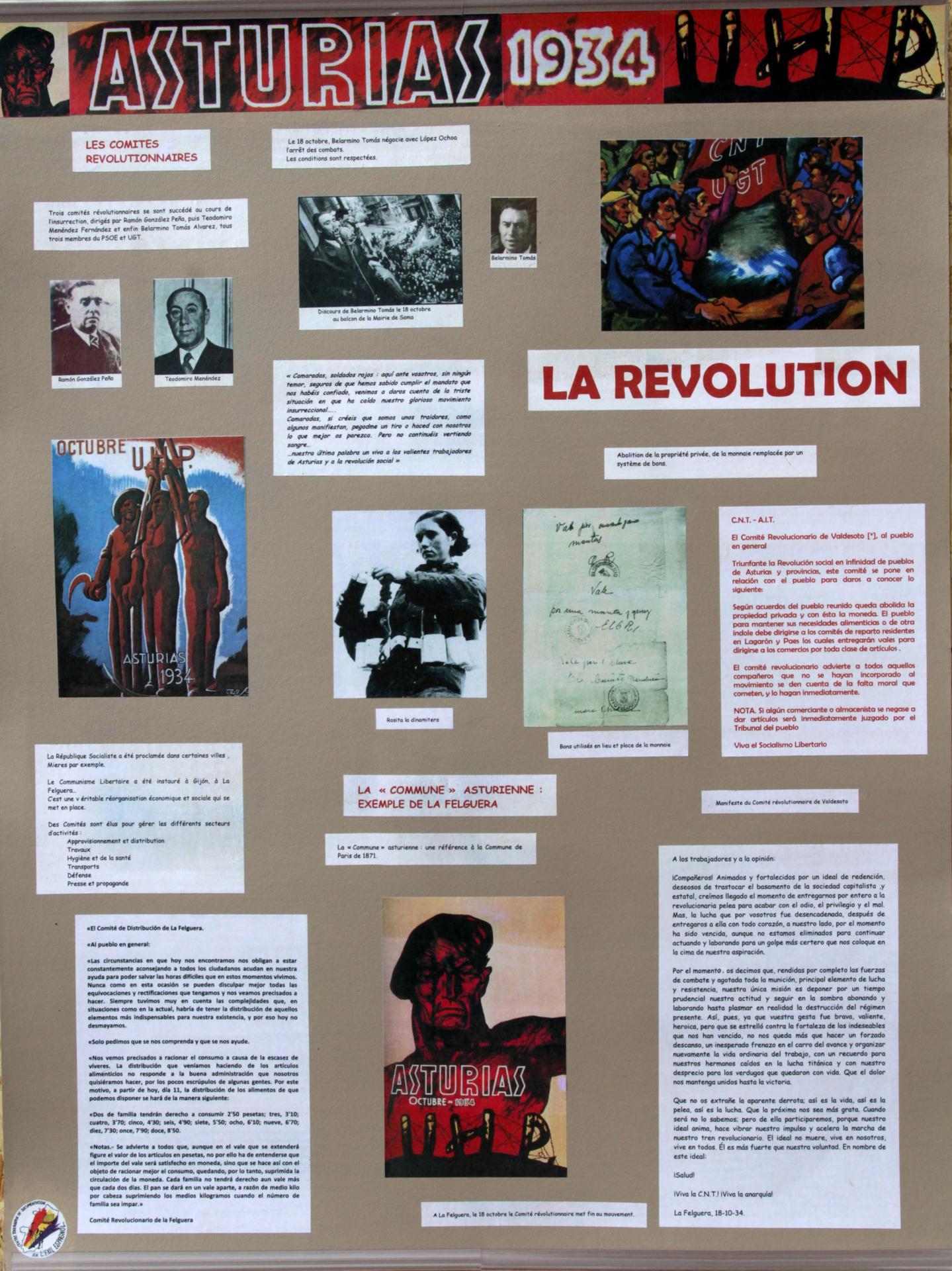 Asturias 1934 revolution 50ppp