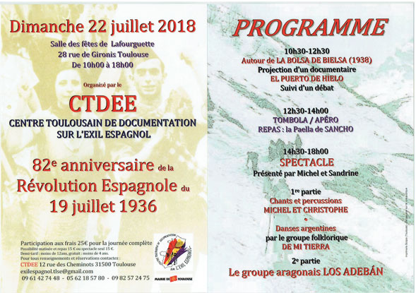 Programme 2018 50ppp