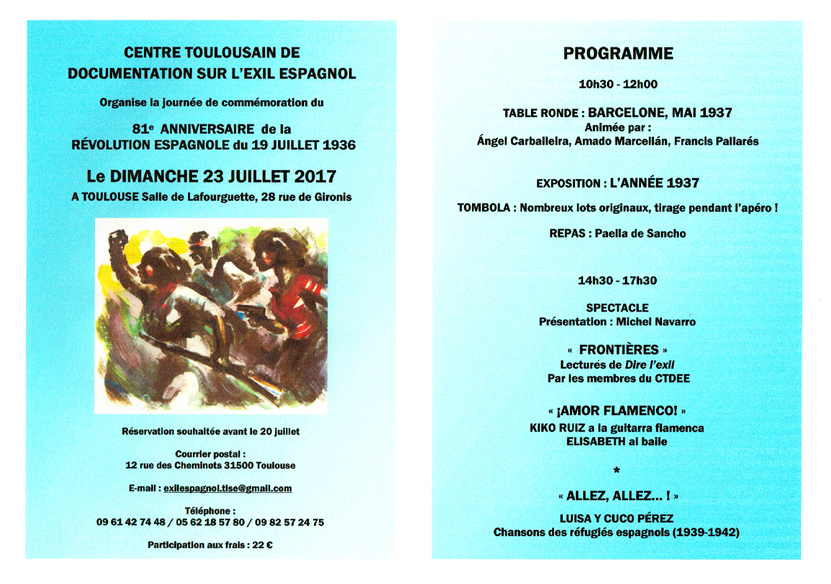 Programme 23 juillet site