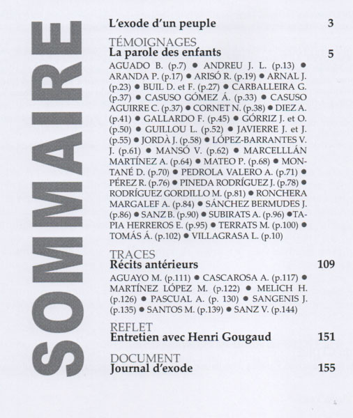 Sommaire n 10
