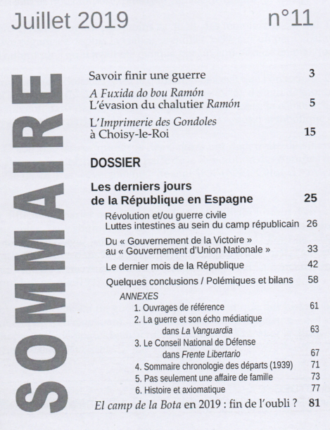 Sommaire n 11